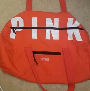 Victoria Secret Pink Duffle Bag